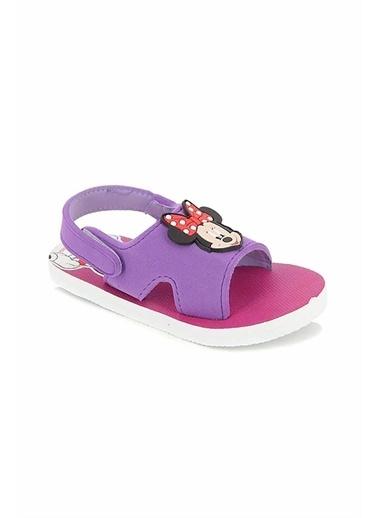 Gigi Gigi Ayakkabı Minnie Mouse Baskılı Kız Çocuk Patik Sandalet Pembe
